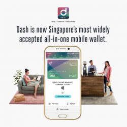 [Singtel] Partnering with Visa, Singtel Dash has launched the Dash Visa Virtual Account.