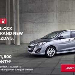 [AVIS] Enjoy your newly leased Mazda 5 starting from S$1800 per month.
