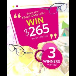[Trendy Eyes] LAST DAY to submit your JOMO selfie in your fave eyewear!