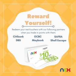 [NEX] Don't forget to check out our list of participating partners whom you can trade your reward points with to