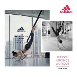 [Adidas] Stand a chance to win a pair of entry tickets to one of our three Power Tri Series bungee aerobics