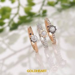 [Goldheart Jewelry Singapore] The perfect ring for the perfect match.