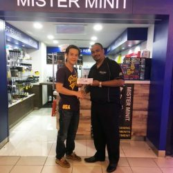 [Mister Minit Singapore] We are pleased to announce the winner of our Customer Feedback Program.