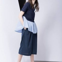 [G2000 Outlet] There are more ways than one to style these linen-look culottes: pop on a vest for a structured silhouette,