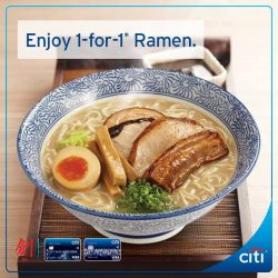 [Citibank ATM] Craving for a piping hot bowl of ramen?