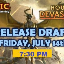 [Funco Gamez] Magic the Gathering: Hour of Devastation Release PartyFormat: Sealed Deck Entry Fee: $30 Prizes and Promos: 5-3-2-