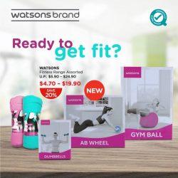 [Watsons Singapore] Not a fan of the gym?