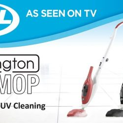 [JML] Livington UV Steam Mop is an advanced method of killing harmful germs and bacteria without the use of harsh chemicals.