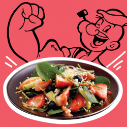 [Sufood] Are you like Popeye a spinach lover?
