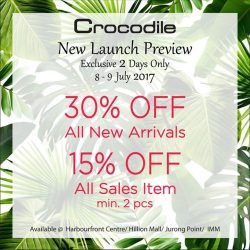 [Crocodile] New Launch Preview.