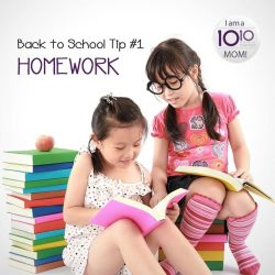 [10 10 Mother & Child Essentials] Holiday homework ensures the learning doesn't stop during the extended period of free time!