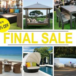 [Natural Living] Don't forget about our FINAL OUTDOOR FURNITURE CLEARANCE SALE ending this week!