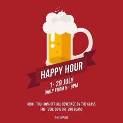 [Saveur Art] This July, we present to you, the Happy Hour.