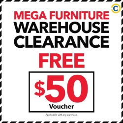 [Courts] Start your weekend off right and head down to the 🎉 Mega Furniture Warehouse Clearance Sale 🎉 at COURTS Megastore from today