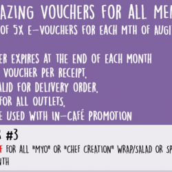 [Simply Wrapps] 5x Amazing Vouchers!