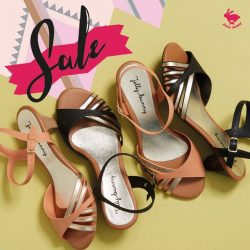 [Jelly Bunny] JELLY BUNNY END OF SEASON SALE• SHOES : TIETA / SALMON , BLACK / 33.