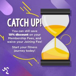 [Anytime Fitness] No Joining fee 10% off membership 50% of myzone Activity tracker You save up to $320 TnCs apply Only at