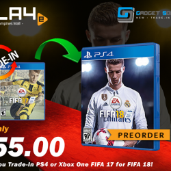 [GAME XTREME] FIFA 18 Trade-Up Promo【PROMO DURATION】 Now - 31/7/17 or While Stocks Last【DETAILS】 New year, new season