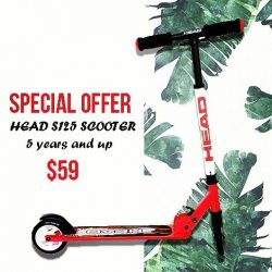 [INLINEX] Another special offer line up is the Head S125 Scooter.