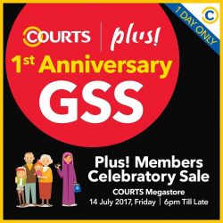 [Courts] It's the 1st anniversary of COURTS and Plus!