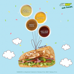 [Subway Singapore] Eat Light!
