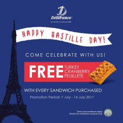 [Delifrance Singapore] Come celebrate Bastille Day with us this July!