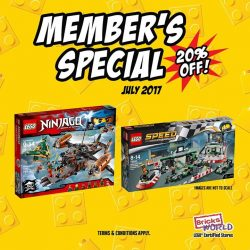 [Bricks World (LEGO Exclusive)] JULY MEMBER'S SPECIAL!