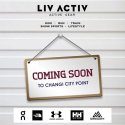 [LIV ACTIV] Your favourite outdoor & sports brands are heading to the East!