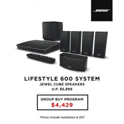 [BOSE] Own the best-in-class home entertainment system - Bose® Lifestyle Systems.