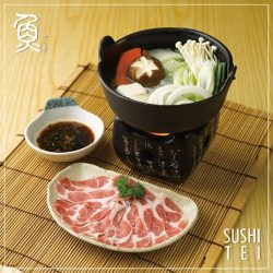 [Sushi Tei] Our Iberico Pork is pure Iberian breed pork from Extremadura, Spain.