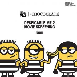 [Chocoolate --- i.t Labels Singapore] DESPICABLE ME 3 | :CHOCOOLATE launching on 8 July at Bugis Junction and orchardgateway.