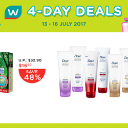 [Watsons Singapore] Here's our exciting 4-DAY DEALS!