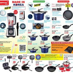 [Isetan] Join HAPPYCALL LIVE DEMO By Mr Stefano Kim, HAPPYCALL Master Chef at our ICardmembers' Household Sale on 7 July 2017,