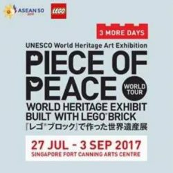 [The Brick Shop] Just 3 DAYS AWAY till The Piece of Peace World Heritage Exhibit!