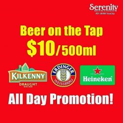 [Serenity Spanish Bar & Restaurant] All Day Promotions @ SERENITY 01-98/99 VivoCity