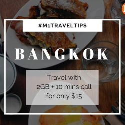 [M1] M1traveltips: First-time travellers to Bangkok?
