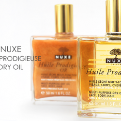 [Beauty By Nature] NUXE icon Huile Prodigieuse®, is enriched in vitamin E.