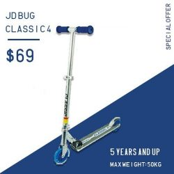 [INLINEX] JD Bug classic 4 scooter is on for a special offer at $69.