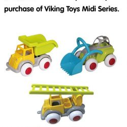[The Collector] Get a free mini chubby when you purchase any of the new Viking Toys Midi Series in new colours!