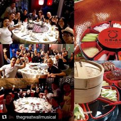 [Tung Lok Seafood] Repost @thegreatwallmusical ・・・ Thank you @tunglokgroup for hosting the Great Wall Musical team at TungLok XiHé Peking Duck Restaurant 💕😋😋!