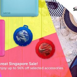 [Singtel] Enjoy up to 56% off selected accessories this Great Singapore Sale!