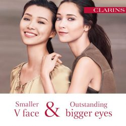 [Clarins] Defined facial contours and big, bold eyes – get the best of both worlds with our Shaping Facial Lift range!