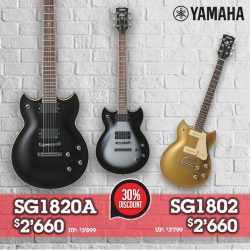 [YAMAHA MUSIC SQUARE] Yamaha SG has been the choice of some of the most influential guitarists.