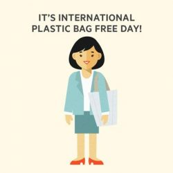 [Thermos] This is the day to say NO to plastic bags!