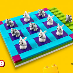 [Babies'R'Us] Free LEGO Friends Tic Tac Toe game when you spend $60 and above on selected LEGO ranges* from 1 July