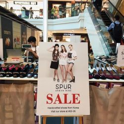 [SPUR] SPUR is having the ULTIMATE GSS sale at Plaza Singapura Atrium, L1.