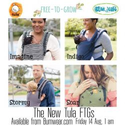[Bumwear] We're excited that the new Tula FTGs are on their way to us and we should be getting them