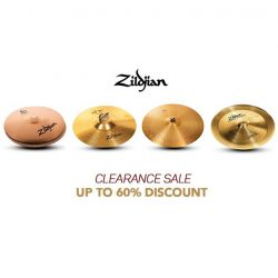 [YAMAHA MUSIC SQUARE] Cymbals Clearance Sale, up to 60% discount!