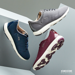 [GEOX] Designed to cushion and breathe with every step.