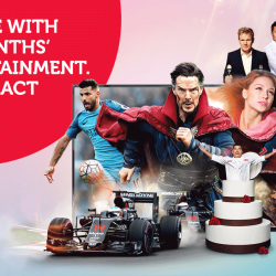 [Singtel] Celebrate our 10th Anniversary with FREE 3 months of TV entertainment.
